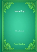 Happy Days (Oliver Herford 저)